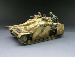 King And Country Ws069 Strictly Limited German Camo Sturmgeschutz Stug Iv Tank New
