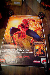 Spiderman 2 Style A 4x6 Ft Bus Shelter D/s Movie Poster Original 2004