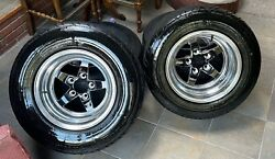 Set Of 4 Custom Forged Weld Rims And Mickey Thompson Sportsman S/r Tires Racing