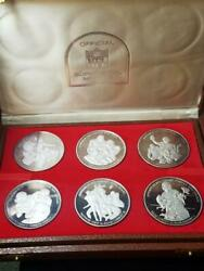 Official Super Bowl Medals 12 Coins Pure Silver Marked 1000 Weighs Over 23 T Oz