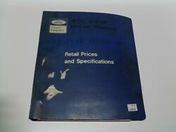 Factory Ford Tractor Hydraulics, 2260 And 2270 Engines And 4.1 6 Cyl Service Manuals