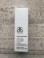 Brand New Arbonne Re9 Advanced Lifting And Contouring Eye Cream • 0.5oz 🌱