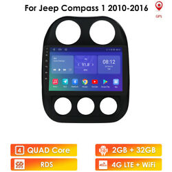 For Jeep Patriot Compass Wifi 4g Lte Car Radio Stereo Player Gps Navi Android 10