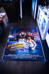 Big Trouble In Little China 4x6 Ft Bus Shelter D/s Movie Poster Original 1986