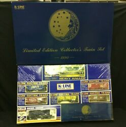 1990 Limited Edition K-line Train Set Proctor And Gamble Sealed In Box