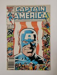 Captain America 323 1st Appearance Of The New Super Patriot Newsstand Edition