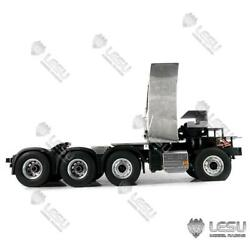 88 Metal Chassis W/ Motor For 1/14 Tamiya Rc Volvo Fh16 Tractor Truck Trailer