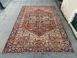 7and0392and039and039 X 10and03910and039and039 Handmade Carpet Village Rug Organic Rug Natural Carpet.skup1400