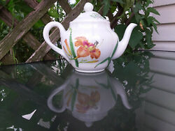 Spode Teapot 2006 Made For Wiiliams Sonoma New