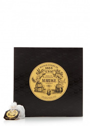Mariage Freres. Earl Grey French Blue Tea, 30 Tea Bags 75g 1 Pack.