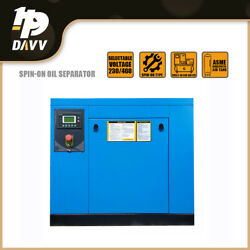 10hp 3phase 39-35cfm @ 125-150psi Rotary Screw Air Compressor For Industrial