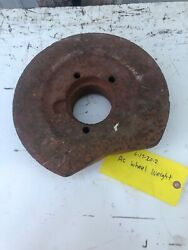 """Allis Chalmers Lawn Tractor 11.25"""" Rear Wheel Weight Have Just One 45 Lbs"""