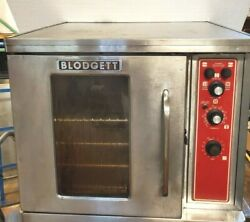 Blodgett Half Size 240v Electric Commercial 1/2 Convection Oven Tech-tested Used