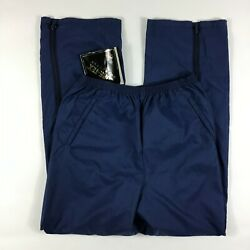 Nwt Vtg Pro Quip Menand039s Size Xl Navy Gortex Golf Pants Made In England