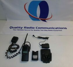 Vertex Standard Vx-924-do-5 136-174 Mhz Vhf Two Way Radio W Mic And Charger