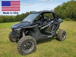Partial Enclosure For Polaris Rzr Pro Xp - Hard Windshield Roof And Rear Window