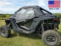 Doors And Rear Window For Polaris Rzr Pro Xp - Soft - Withstands Highway Speeds