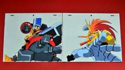 Gaogaigar Protagonist Lion King's Triumph Cell Painting Set Of Rare Slaye _10194