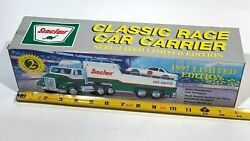 Vintage Sinclair Classic Race Car Carrier 1997 Limited Edition 15 Model Toy