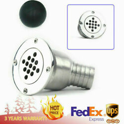 Boat Deck Drain Scupper Marine Stainless Floor Drain Tool For Ship Yacht 1-1/2