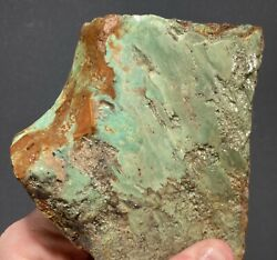 Tyrone Turquoise Large Plate Slab. Ready For Display Or Lapidary. Legit Nm Turq.