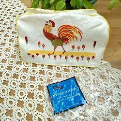 Vintage Nos Toaster Cover Rooster