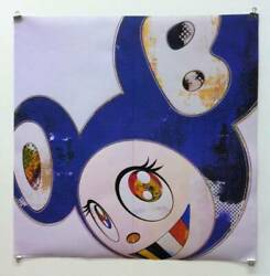 True Work Guarantee Takashi Murakami Poster And Then 3000 Blue Limited To _12928
