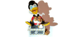 Disney Uncle Scrooge Mcduck Huge 19 Inch Statue With Piles Of Gold No Glasses