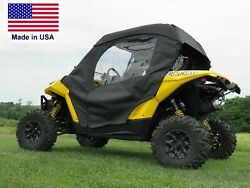 Can Am Maverick Enclosure For Existing Windshield - Doors, Roof And Rear Window