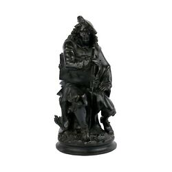 19th Century French Bronze Sculpture Of Andldquorembrandt By Albert Carrier-belleuse