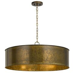 Cal Lighting Fx-3637-5 Rochefort-five Light Chandelier-29.5 Inches Wide By 8