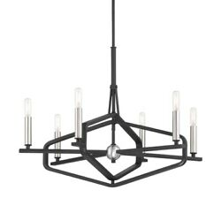 George Kovacs Lighting - 6 Light Chandelier-28 Inches Wide By 21.5 Inches Tall