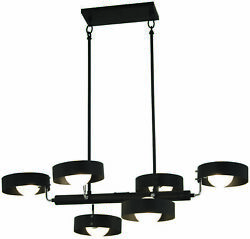 George Kovacs Lighting - Lift Off-6 Light Chandelier In Contemporary Style-38