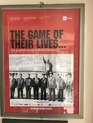 Very Very Rare Framed Poster Of The North Koreaandrsquos 1966 Fifa World Cup Champions