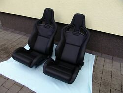 Recaro Sportster Cs Seats Pair Real Leather And Heated Brand New