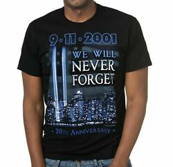 9/11 20th Anniversary We Will Never Forget Patriot Day 2021 T-shirt Unisex Gift