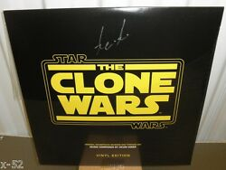 Star Wars The Clone Wars Soundtrack Lp Record Vinyl Signed By Kevin Kiner