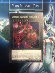 Number 89diablosis The Mind Hacker-super Rare-ycsw En010 Prize Card