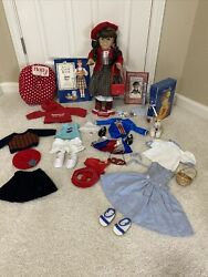 American Girl Doll Retired Molly With Accessories  Pleasant Company