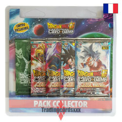 Dragon Ball Super Card Game - Pack Collector 4 Boosters Colossal Warfare