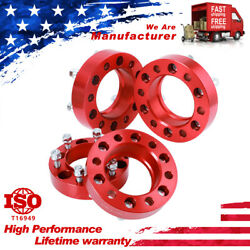 1.5 Wheel Spacers 6x5.5 139.7mm 12x1.5 106mm Hubcentric For Tacoma Fj Cruiser
