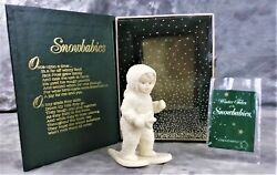 Vintage 1993 Snowbabies A Special Delivery 7948-0 Retired W/original Box