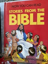 Now You Can Read Stories From The Bible Large Print For Beginning Reader Hb 1988