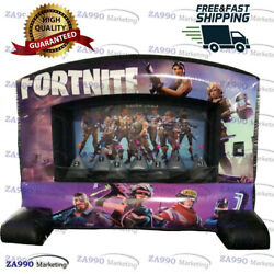 10x5.9ft Inflatable Fortnite Shooting Target Sport Game With Air Blower