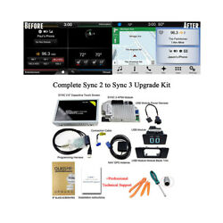 Factory Sync 2 To Sync 3 Upgrade Kit 3.4 Fit For Ford Lincoln Apim Module Latest