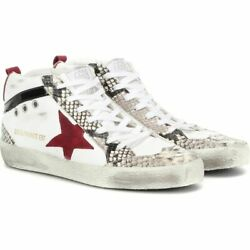 Golden Goose Women's Sneaker Shoes Shoe Mid Star Leather Sneakers Myt-whi 8-424
