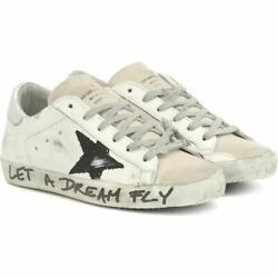 Golden Goose Women's Sneaker Shoes Shoe Superstar Leather Sneakers White 8-424