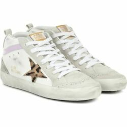 Golden Goose Womenand039s Sneaker Shoes Shoe Mid Star Leather And Suede Sneake 8-424