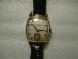 Blova Square Dial Watches Antique 1930 About Made In Usa