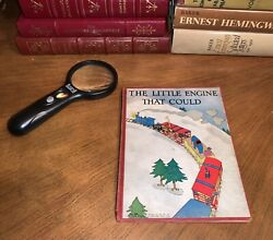1930 The Little Engine That Could Platt And Munk First Edition Hb Book Very Rare